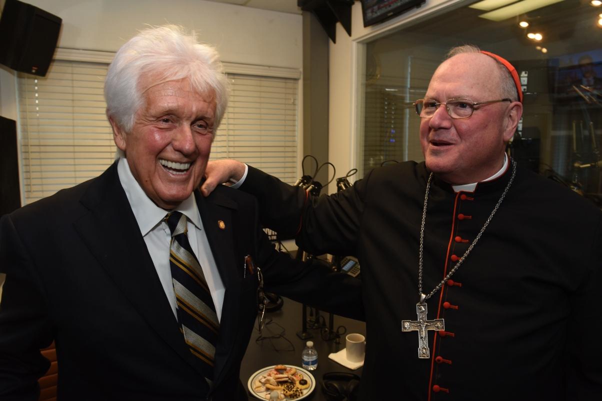 Cardinal Dolan Visits WVOX